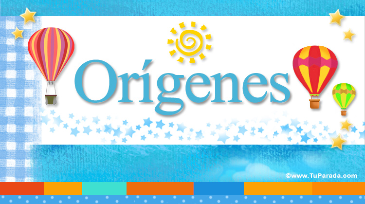Orígenes, imagen de Orígenes