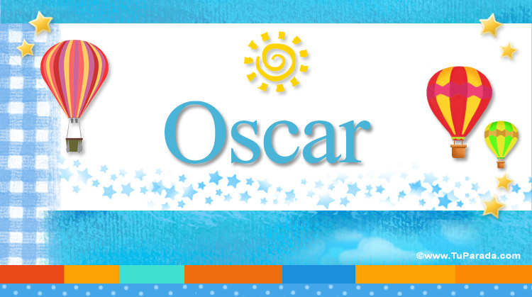 Oscar, imagen de Oscar