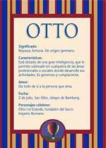 Nombre Otto