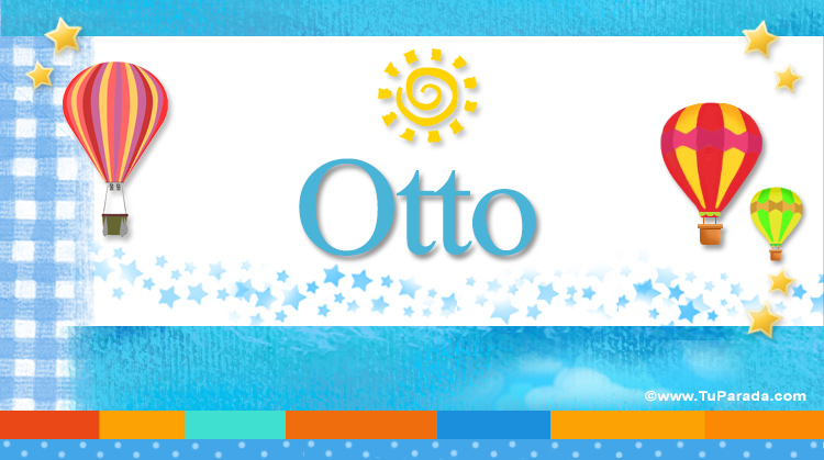 Otto, imagen de Otto