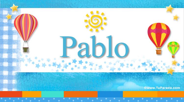 Pablo, imagen de Pablo