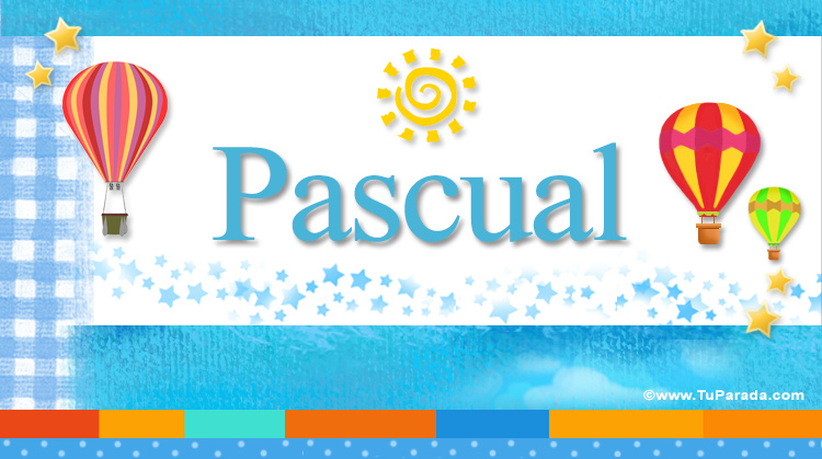 Pascual, imagen de Pascual