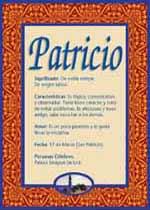 Nombre Patricio