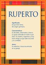 Nombre Ruperto