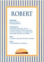 Nombre Robert
