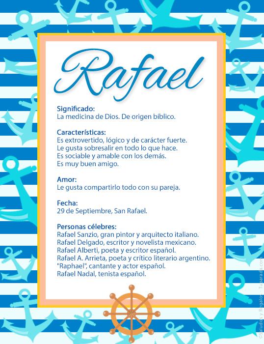 Rafael, imagen de Rafael