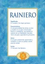 Nombre Rainiero