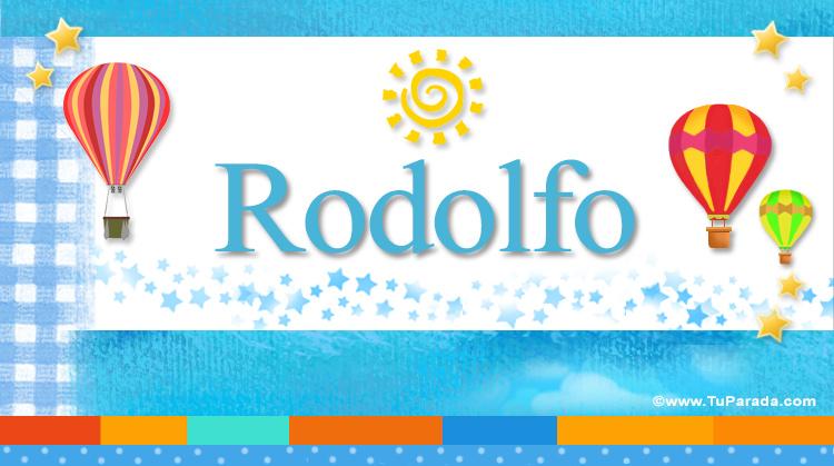 Rodolfo, imagen de Rodolfo