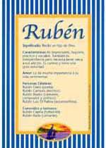 Nombre Rubén