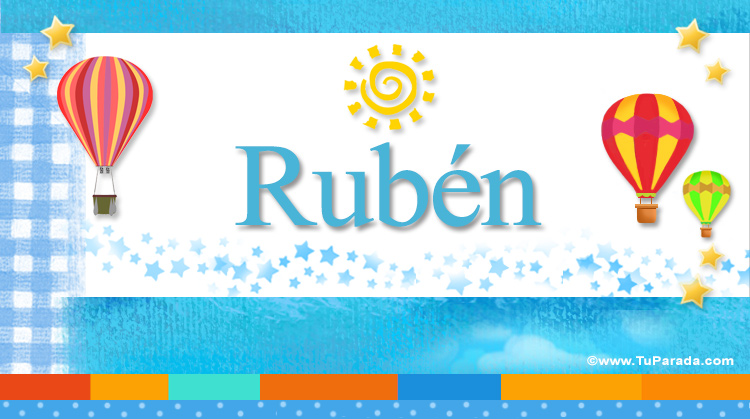 Rubén, imagen de Rubén