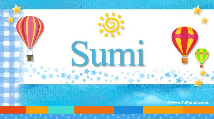 Sumi, imagen de Sumi