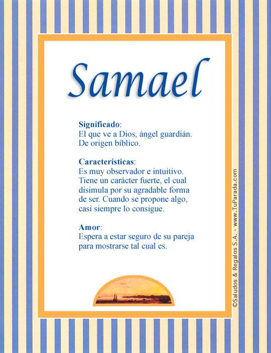 Samael, imagen de Samael