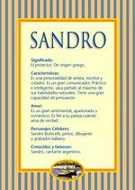 Nombre Sandro