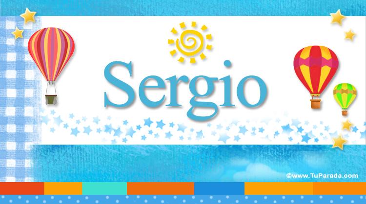 Sergio, imagen de Sergio