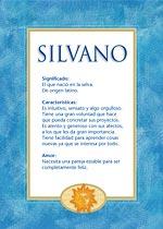 Nombre Silvano