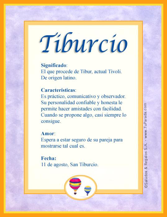 Tiburcio, imagen de Tiburcio