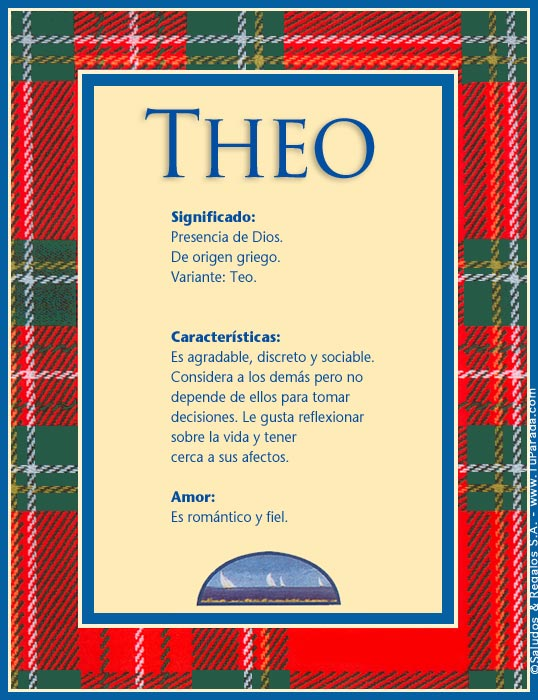 Theo, imagen de Theo