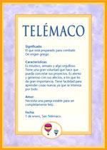 Origen y significado de Telémaco