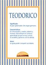 Nombre Teodorico