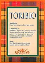 Nombre Toribio