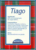 Origen y significado de Tiago