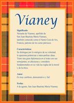 Origen y significado de Vianey