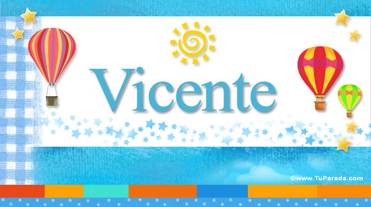 Vicente, imagen de Vicente