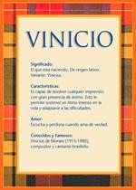 Nombre Vinicio