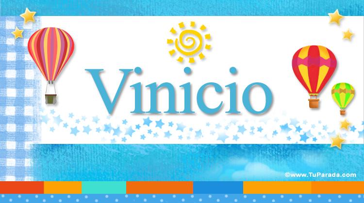 Vinicio, imagen de Vinicio