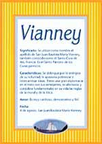 Origen y significado de Vianney