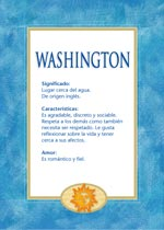 Nombre Washington