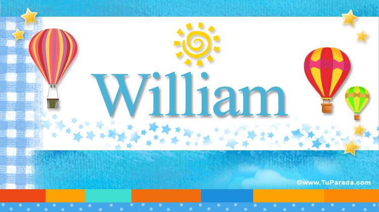 William, imagen de William