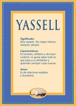 Origen y significado de Yassell