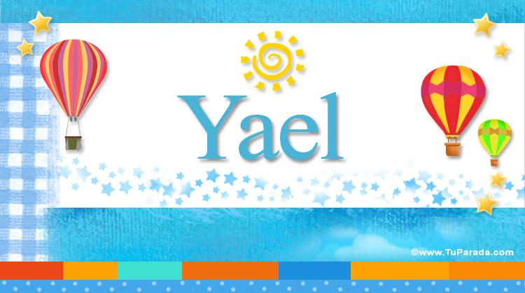 Yael, imagen de Yael