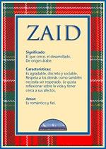 Origen y significado de Zaid
