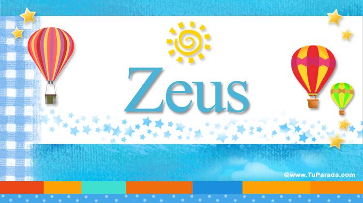 Zeus, imagen de Zeus