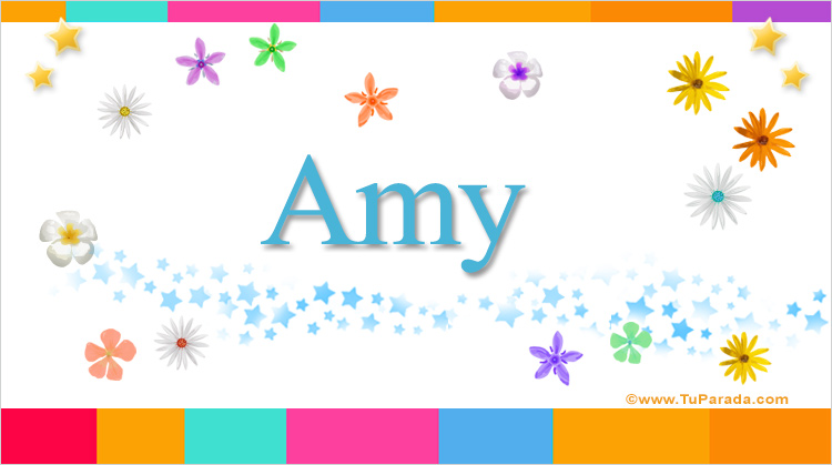 Amy, imagen de Amy