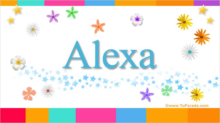 Alexa, imagen de Alexa