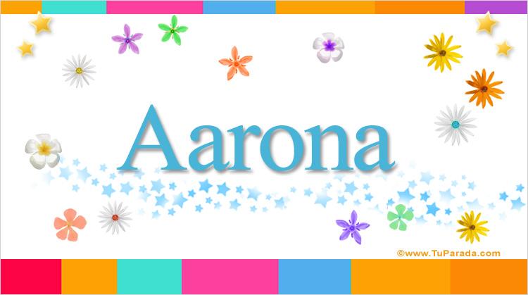 Aarona, imagen de Aarona