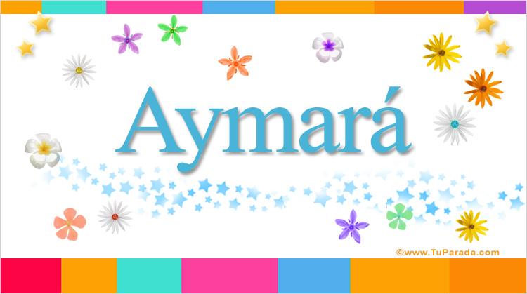 Aymará, imagen de Aymará