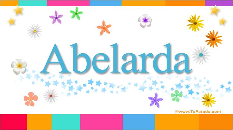 Abelarda, imagen de Abelarda