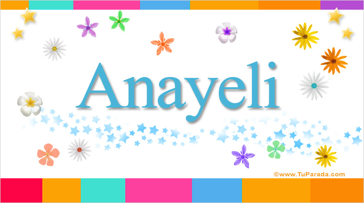Anayeli, imagen de Anayeli