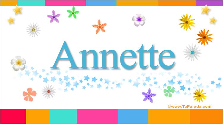 Annette, imagen de Annette