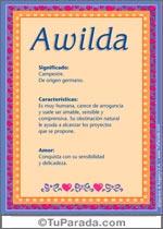 Nombre Awilda