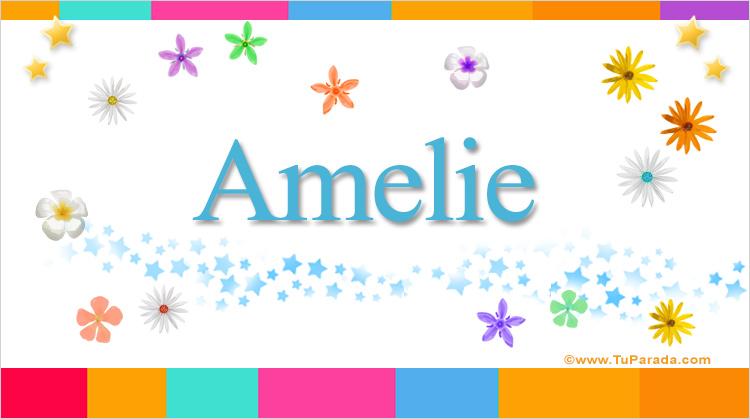 Amelie, imagen de Amelie
