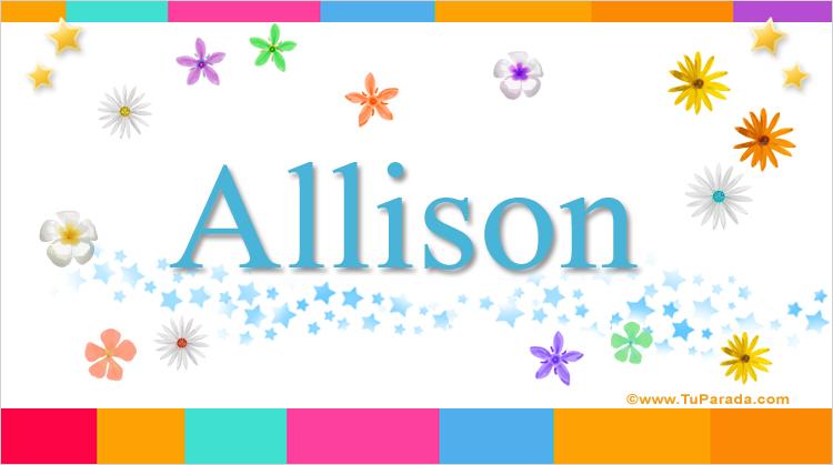 Allison, imagen de Allison