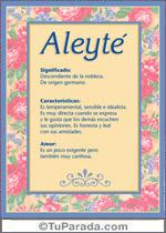 Nombre Aleyté