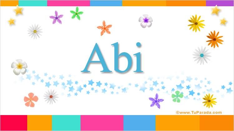 Abi, imagen de Abi