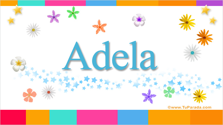 Adela, imagen de Adela