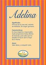 Origen y significado de Adelina